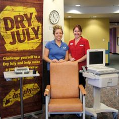 Purchases made using Dry July funds at Prince Of Wales Hospital