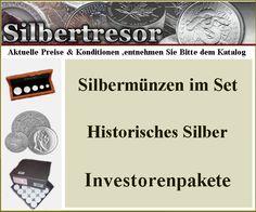 Wertanlagen. Für Sie Gesucht,Gefunden und Katalogisiert Edelmetalle & Münzen www.Senioren-Kiosk.jimdo.com
