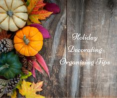 Want to keep your decorations better organized this holiday season? Check out today's blog for some helpful tips!