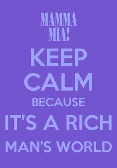 I don't keep calm!