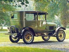 1926 Model T Ford Tudor Sedan.