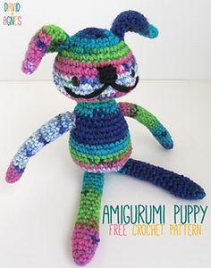 Amigurumi Puppy ~ free pattern