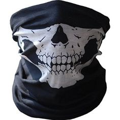 Men's Scarves Enthusiastic Red Color Skull Bandana Halloween Decortation Bicycle Ski Skull Half Face Mask Ghost Sport Neck Gaiter Cycling Face Mask Matching In Colour