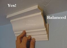 Moulding http://www.thejoyofmoldings.com/three-piece-crown-molding-three-common-mistakes/