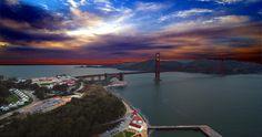 Beautiful Shot of the Golden Gate Bridge in San Francisco.  Photo was taken by Highroglyph, LLC.  Like Highroglyph, LLC on Facebook!