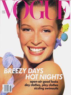 Estelle Lefébure by Richard Avedon Vogue US May 1988