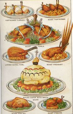 Mrs Beeton: the godmother of British cookery… and the original Martha Stewart! Retro Recipes, Vintage Recipes, Ethnic Recipes, Victorian Recipes, Hp Sauce, Simply Yummy, Vintage Cooking, Vintage Food, Victorian Kitchen