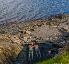 Hellulaug is amazing little pool just by the sea. It's located in the Westfjords of Iceland.