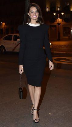 Penelope Cruz in Versace attends the 'La Reina de Espana' premiere after-party in Spain. #bestdressed