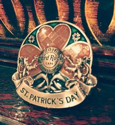 Commemorate a rocking St. Patrick's with our St. Patrick's Day pin! #stpatricks #pincollectors #thisishardrock