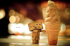 I scream...robot bokeh