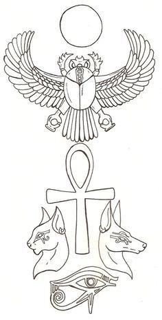 8a440ec5fdbd46f80587c0cb314c4042--egyptian-tattoo-sleeve-scarab-tattoo-egyptian.jpg 236×465 pixels
