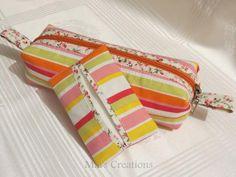 DIY  Tissue Holder  : DIY  Pencil Case & Pocket Tissue Holder