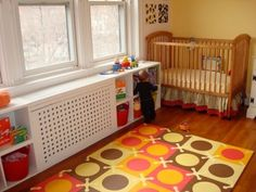 This radiator cover would be great in the kids play room!