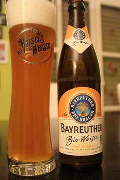 Bayreuther Bio-Weisse naturtrüb der Maisel - Bier - beer