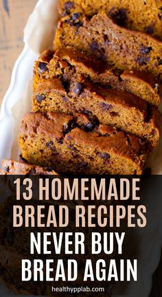 13 Homemade Bread Recipes – Never Buy Bread Again – Healthy PP Lab Natural Cures, Natural Health, Yeast Bread Recipes, Healthy Chicken Recipes, Healthy Life, Healthy Food, Herbal Remedies, Herbalism, Homemade