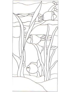 Free Fish Patterns For Stained Glass