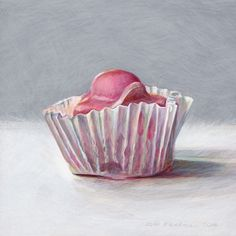 Joel Penkman 'Fondant Fancy' Egg Tempra on gesso board