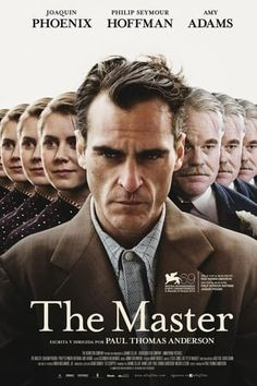 The official poster design for Paul Thomas Anderson's film 'The Master', starring Joaquin Phoenix, Philip Seymour Hoffman y Amy Adams. The poster shows the influence of different psychological techniques in the conduct of its protagonist. Film Movie, Cinema Movies, Drama Movies, Hd Movies, Movies Online, Movies And Tv Shows, Drama Film, Action Movies, Joaquin Phoenix