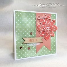 Direct to Paper Technique: Perfect for the Irresistibly Yours Designer Series Paper; card created for Stamps in the Mail Club, only at LovenStamps Crazy About You, Ink Pads, Scrapbook Supplies, Emboss, Stampin Up Cards, Cardmaking, Period, Catalog, Stamps