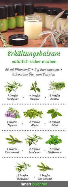 Erkältungssalbe blitzschnell angerührt: preiswert, wirksam und hautfreundlich Cold ointments smell good and relieve discomfort. However, most are based on mineral oils. A natural alternative is quickly stirred! Sent Bon, Homemade Cosmetics, Hygiene, Natural Make Up, Natural Cosmetics, Smell Good, Kraut, Diy Beauty, Beauty Care