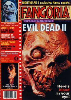 The Horror of Truant! Classic Fangoria Magazine Covers