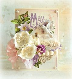 Time To Flourish Collection- May scrapkiart.blogspot.com