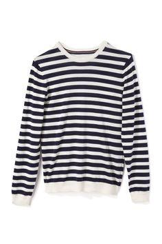 Striped Knit Top by Stella Jean for Preorder on Moda Operandi