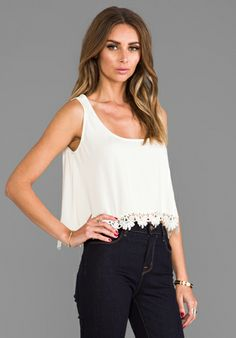 820f6b4604d7f4 artee couture Lace Trim Crop Top (Juniors) available at  Nordstrom ...
