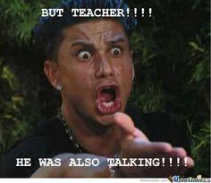 Their faces TOTALLY look like this! Ah ha ha! . . . (Teacher Memes/Cartoons- 12 | squareheadteachers)