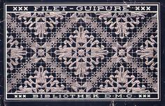 Filet-Guipure [Filet Lace], Th. de Dillmont, 1923_(part1)