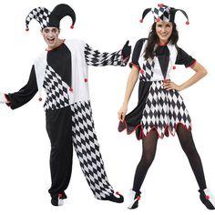 Costumes pour couples Bouffons #déguisementscouples
