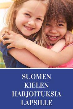 """Tehtävissä harjoitellaan suomen kieltä, mm. käsitteitä; päällä, alla, vieressä, sisällä, takana, edessä, välissä. Harjoitellaan suuntia oikea ja vasen. Harjoitellaan vastaamaan kysymyksiin sekä opetellaan kysymyssanoja kuten """"missä"""" tai """"Kuka"""". Tehtävissä mukana myös kirjaimia ja sanoja, S2-tehtäviä sekä suomen kielen käsitteitä (mm. synonyymit, kaksoiskonsonantit). Kindergarten Crafts, Preschool, Special Needs Teaching, 8 Year Olds, Vase, Crafts For Kids, Language, Education, Classroom Ideas"""