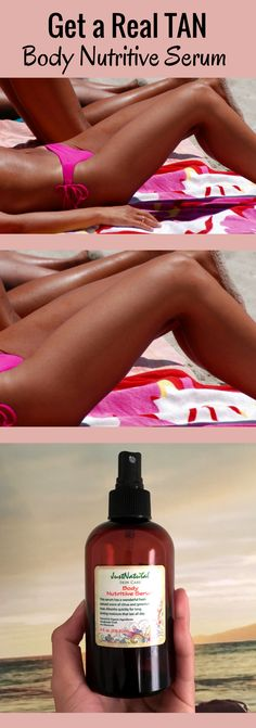 Get the fast DARK and long lasting TAN while improving the look and feel of your skin.