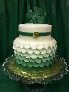 St. Patrick's Day cake!!