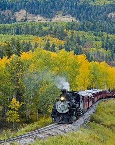 Cumbres and Toltec Scenic Railroad through New Mexico // zandall
