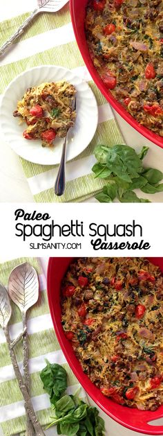 (Omit oil; sub 2 egg whites for the egg) Spaghetti squash is great on its own, but it makes the perfect binder for…