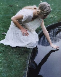 """""""The Age Of Innocence"""" Ruven Afandor for Elle May '01"""