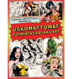 Booktopia has The Classic Comic Colouring Book, Creative Colouring for Grown-Ups Series by Hardie Grant:IMPORTS. Buy a discounted Paperback of The Classic Comic Colouring Book online from Australia's leading online bookstore. Comics Vintage, Vintage Comic Books, Comic Books Art, Comic Art, Book Art, Science Fiction, Adult Coloring, Coloring Books, Ligne Claire