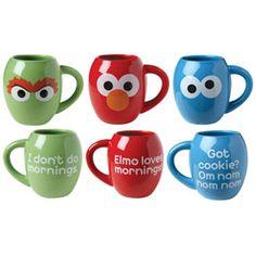 Sesame Street Mugs