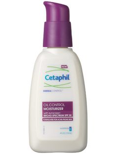 Love this stuff. It a beauty staple because I can't find anything better. Cetaphil DermaControl Oil Control Moisturizer SPF 30 soothes and moisturizes acne-prone skin Best Skin Care Routine, Skin Care Regimen, Skin Care Tips, Skin Tips, Skin Routine, Skincare Routine, Facial Skin Care, Anti Aging Skin Care, Facial Tips