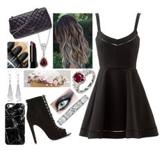 """""""Molly 5"""" by moonlightchild on Polyvore featuring Elizabeth and James, Blue Nile, River Island, Allurez, Bobbi Brown Cosmetics, Casetify, Chanel, women's clothing, women and female"""