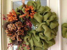 ~~~~~~~~~Created Twists: New Fall Wreaths.