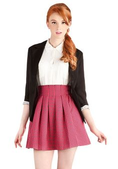 Pleats and Punch Skirt. An outdoor get-together with the girls isnt complete until you brew up a pitcher of your signature punch, and wearing this polka-dotted skirt makes the occasion even sweeter! #pinkNaN