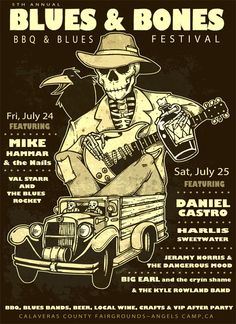 Blues Bones BBQ Festival in Angels Camp California. Angels Camp California, Festival Information, Festivals 2015, Music Festivals, Meet The Artist, Blue Band, Local Events, Concert Posters, Good Music