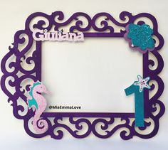 Little mermaid / under the sea PhotoBooth frame #MiaEmmaLove #underthesea #mermaid #mermaidparty #partydecor #partydecorideas #undertheseaparty #handmade #mermaidpartytheme #undertheseapartytheme