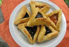 Gluten-Free Hamantaschen - Sugar-Free [ Purim Cookies ]