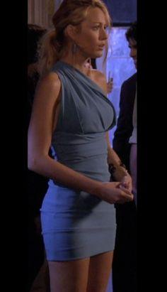 dress blue gossip girl blake lively serena van der woodsen light blue blue dress…