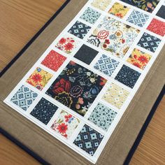 Quilted Patchwork Table Runner, Modern Floral Table Runner, Pretty Fabric Table Topper, Blue Quilted Table Centrepiece, Patchwork Table Mat by SewnByVicki on Etsy https://www.etsy.com/uk/listing/585881298/quilted-patchwork-table-runner-modern