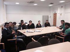Aston university's first FDM pizza meet up